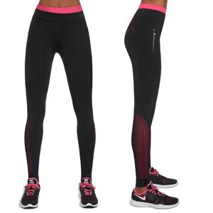 Dámské Sportovní Legíny Bas Black Inspire  Černo-Růžová  M