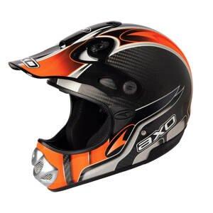 Motokrosová Přilba Axo Mm Carbon Evo  Oranžová  L (59-60)
