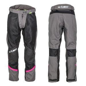 Dámské letní moto kalhoty W-TEC Artemisa  Black-Grey  XXL
