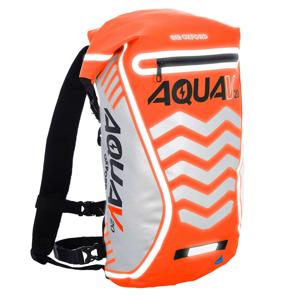 Vodotěsný batoh Oxford Aqua V20 Extreme Visibility 20l  oranžová