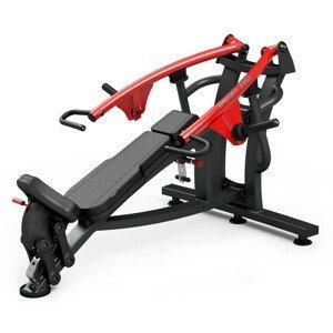 Posilovací Stroj - Šikmé Tlaky Na Prsa Marbo Sport Mf-U004  Černá
