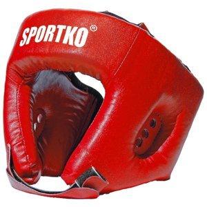 Boxerský Chránič Hlavy Sportko Od1  Červená  M