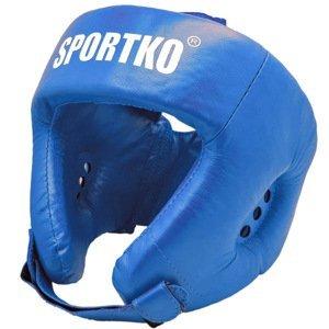Boxerský Chránič Hlavy Sportko Ok2  Modrá  M