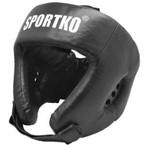 Boxerský Chránič Hlavy Sportko Ok2  Černá  L