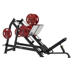 Leg Press Steelflex Plateload Line Pldp  Černo-Červená