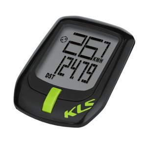 Bezdrátový Cyklocomputer Kellys Direct Wl  Black-Green