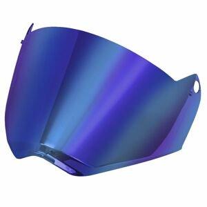 Náhradní Hledí Pro Přilbu Ls2 Mx436 Pioneer  Iridium Blue