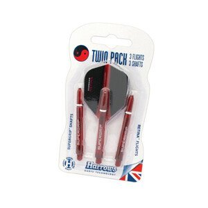 Násadky A Letky Harrows Twin Pack Medium  Red