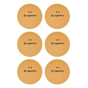 Pingpongové Míčky Insportline Elisenda S2 6Ks  Oranžová