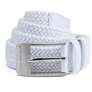 Pánský Opasek Under Armour Men's Braided 2.0 Belt  White  38