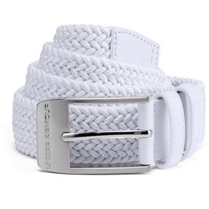 Pánský Opasek Under Armour Men's Braided 2.0 Belt  White  40