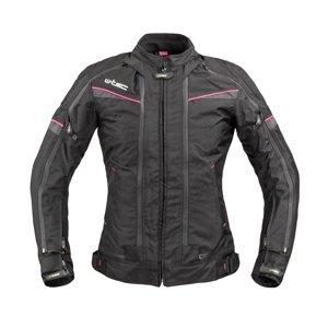 Dámská Moto Bunda W-Tec Progair Lady  Černo-Růžová  Xl