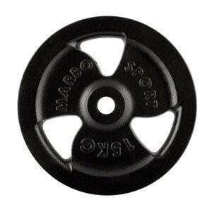 Litinový kotouč Marbo Sport MW-O15 Tri Grip 15 kg