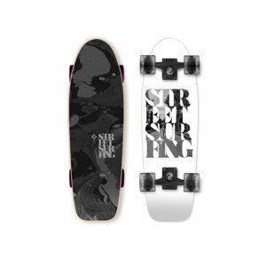 "Mini longboard Street Surfing Cruiser 28"" White Soul"