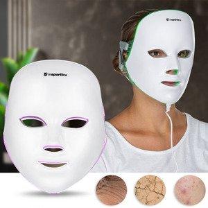 Ošetřující LED maska na obličej inSPORTline Manahil