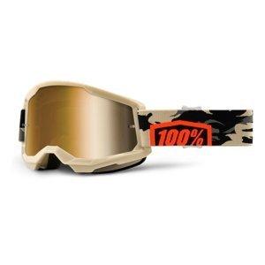 Motokrosové Brýle 100% Strata 2 Mirror