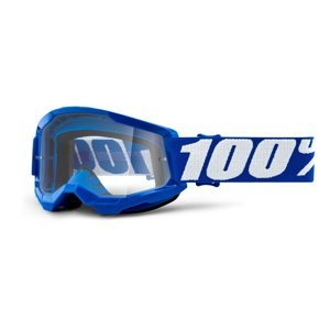 Dětské Motokrosové Brýle 100% Strata 2 Youth  Modrá, Čiré Plexi