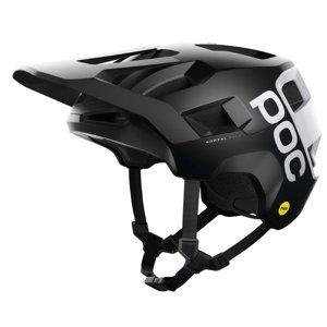 Cyklistická Přilba Poc Kortal Race Mips  Black Matt/Hydrogen White
