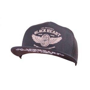 Kšiltovka BLACK HEART Wings Trucker  černá
