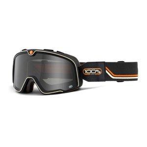 Motokrosové Brýle 100% Barstow  Team Speed Černá, Kouřové Plexi