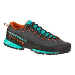 Dámské turistické boty La Sportiva TX4 Woman  Carbon/Aqua  41,5