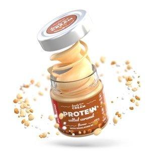 Ořechový krém Nutrend Denuts Cream slaný karamel s proteinem 250