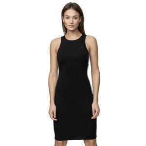 Pletené šaty 4F SUDD012  Deep Black  S