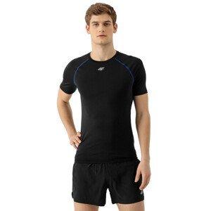 Pánské běžecké triko 4F TSMF011  Deep Black  L