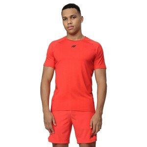 Pánské tréninkové triko 4F TSMF016  Red Neon  M