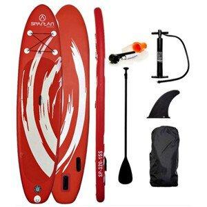 """Paddleboard s příslušenstvím Spartan SUP 10'6"""" Red-White"""