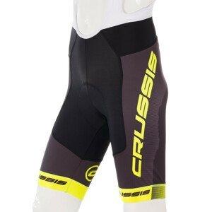 Pánské cyklistické kraťasy se šlemi Crussis CSW-068