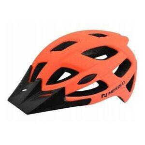 Cyklo přilba Nexelo City  oranžovo-černá  L (58-61)