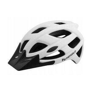 Cyklo přilba Nexelo City  matná bílá  M (55-58)