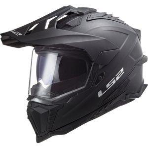 Enduro helma LS2 MX701 Explorer Solid  Matt Black  M (57-58)