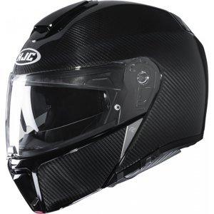 Moto přilba HJC RPHA 90S Carbon Solid Black P/J  XXL (63-64)