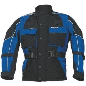 Dětská Moto Bunda Roleff Taslan Kids  Modro-Černá  S