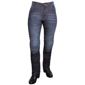 Dámské Jeansové Moto Kalhoty Roleff Aramid Lady  Modrá  35/2Xl