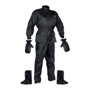 Set Rainpack Bunda/kalhoty/rukavice/boty Nox  Černá  M