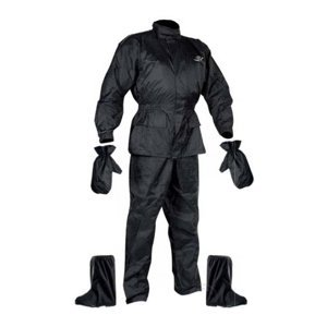 Set Rainpack Bunda/kalhoty/rukavice/boty Nox  Černá  Xl