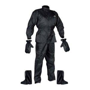 Set Rainpack Bunda/kalhoty/rukavice/boty Nox  Černá  S
