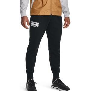 Kalhoty Under Armour UA RIVAL FLC SIGNATURE JGR-BLK
