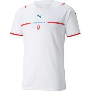 Dres Puma  Czech Republic Men's Away Replica Jersey