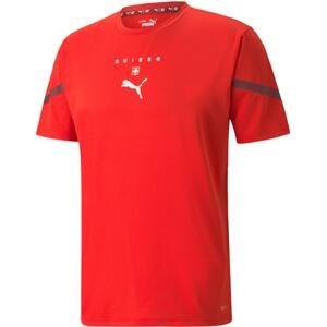 Triko Puma Switzerland Prematch Men's Jersey 2021/22