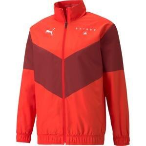 Bunda Puma  Swiss Pre-Match Jacket 2021