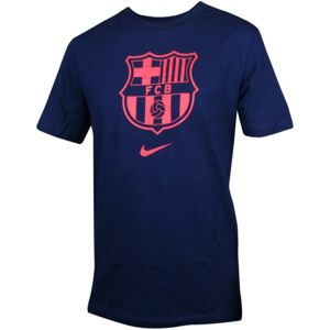 Triko Nike  FC Barcelona T-Shirt Blau Rot F492