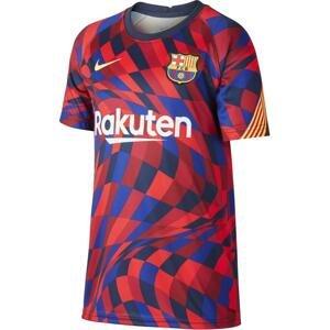 Triko Nike Y FC BARCELONA VAPORKNIT DRY TOP 2020/21