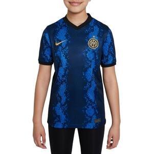 Dres Nike Inter Milan 2021/22 Stadium Home Big Kids Soccer Jersey