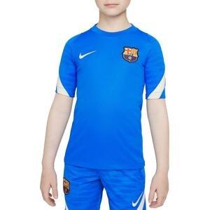Triko Nike FC Barcelona Strike Big Kids  Dri-FIT Short-Sleeve Soccer Top
