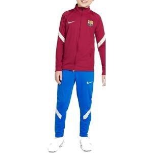 Souprava Nike FC Barcelona Strike Big Kids  Dri-FIT Soccer Tracksuit