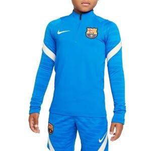 Mikina Nike FC Barcelona Strike Big Kids Soccer Drill Top